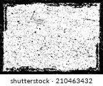 grunge frame   | Shutterstock .eps vector #210463432