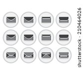 vector of flat icon  envelope...