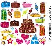 designe elements for holiday ... | Shutterstock .eps vector #21046459