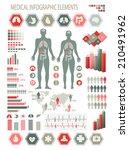medical infographics elements.... | Shutterstock . vector #210491962
