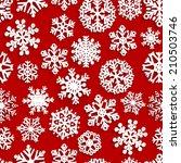 christmas seamless pattern of...   Shutterstock . vector #210503746