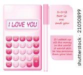 vector valentines pink...   Shutterstock .eps vector #21050899