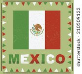 Mexican Frame Decoration With...