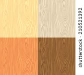 Seamless Wooden Texture In Fou...