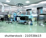 operating room in a modern... | Shutterstock . vector #210538615