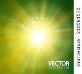 abstract light background.... | Shutterstock .eps vector #210581572