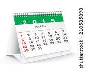 March 2015 Desk Calendar  ...