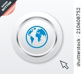 globe sign icon. world map...