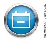 calendar icon | Shutterstock .eps vector #210617236