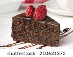 Slice Of Chocolate Layer Cake...