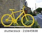 Yellow Bike. Barkisland  West...