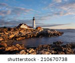 The Portland Head Light At...