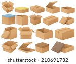 ilustration of a set of... | Shutterstock .eps vector #210691732