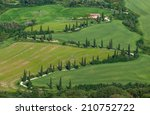 image of typical tuscan... | Shutterstock . vector #210752722