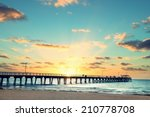 beautiful sunset at grange... | Shutterstock . vector #210778708