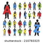 vector of business people... | Shutterstock .eps vector #210783325