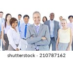 large group of business people | Shutterstock . vector #210787162