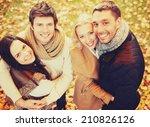 holidays  vacation  happy... | Shutterstock . vector #210826126