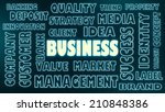 business related tags cloud | Shutterstock . vector #210848386