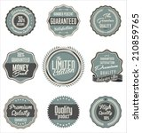 high quality labels collection | Shutterstock .eps vector #210859765