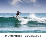 mirissa  sri lanka   march 04 ... | Shutterstock . vector #210861976