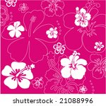 floral texture background | Shutterstock .eps vector #21088996