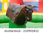 bull ride   Shutterstock . vector #210902812