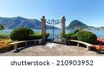 Lugano  Switzerland   Juli 31 ...