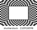 Checkerboard Background. Vector