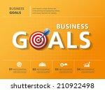info graphic design  vector ... | Shutterstock .eps vector #210922498