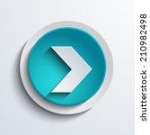 vector modern blue arrow circle ...