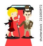 rich guy | Shutterstock .eps vector #211003972