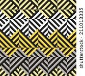 seamless geometric color... | Shutterstock .eps vector #211013335