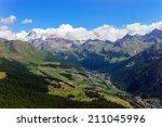 val d'ayas   panorama of the...