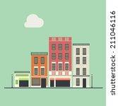 building | Shutterstock .eps vector #211046116