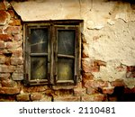 vintage window  color picture.... | Shutterstock . vector #2110481