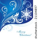 xmas background. | Shutterstock .eps vector #21104857