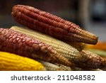 corns in a mexican market ready ...