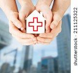 healthcare  medicine and... | Shutterstock . vector #211125322
