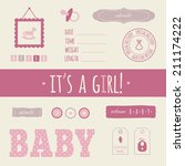 "baby set ""it's a girl "" for... 