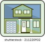 simple house | Shutterstock .eps vector #211220932