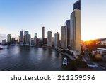 brisbane city | Shutterstock . vector #211259596