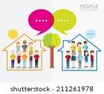 family tree icon vector design | Shutterstock .eps vector #211261978