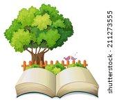 illustration of an empty open... | Shutterstock . vector #211273555
