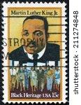 usa   circa 1979  a stamp... | Shutterstock . vector #211274848