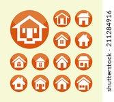 houses | Shutterstock .eps vector #211284916
