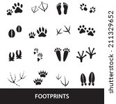 basic black simple animal and... | Shutterstock .eps vector #211329652