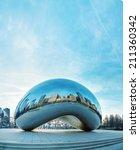 Chicago   April 10  Cloud Gate...