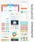 modern ui flat vector kit...