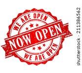 now open | Shutterstock .eps vector #211386562